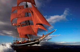 Großsegler Eye of the Wind kommt zum Hamburger Hafengeburtstag