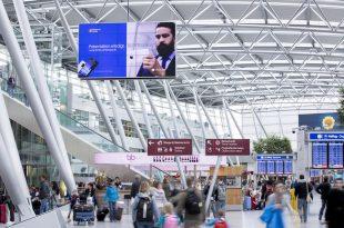 288829 310x205 - DUS AD BOARD: Größte digitale Indoor-Fläche an einem deutschen Flughafen geht an den Start