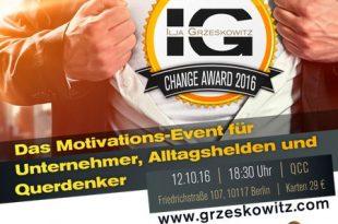 289129 310x205 - Der Change Award 2016: DAS Event für Veränderungs-Profis!