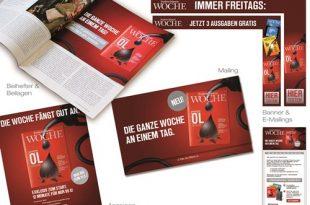 Jahns and Friends wirbt Abonnenten für die 'Frankfurter Allgemeine Woche'
