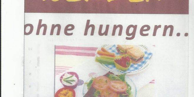 Schlank Hungern